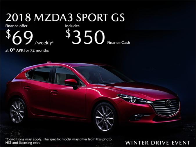 Half-Way Motors Mazda - Get the 2018 Mazda3 Sport Today!