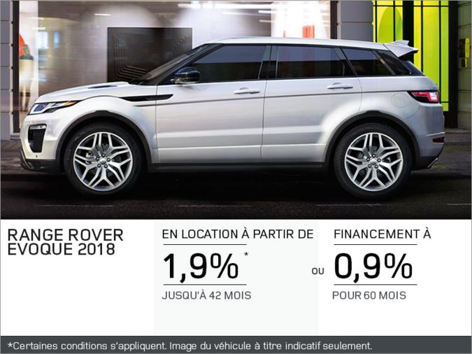 Le Range Rover Evoque SE 2018