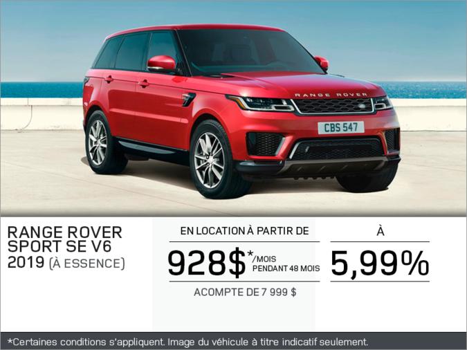 Le Range Rover Sport 2019