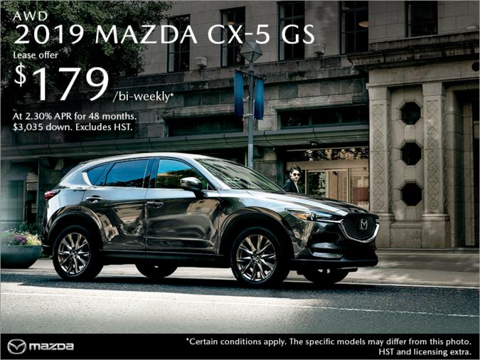 Half-Way Motors Mazda - Get the 2019 Mazda CX-5 Today!
