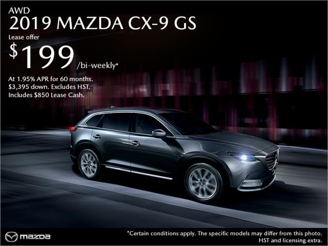 Half-Way Motors Mazda - Get the 2019 Mazda CX-9 Today!