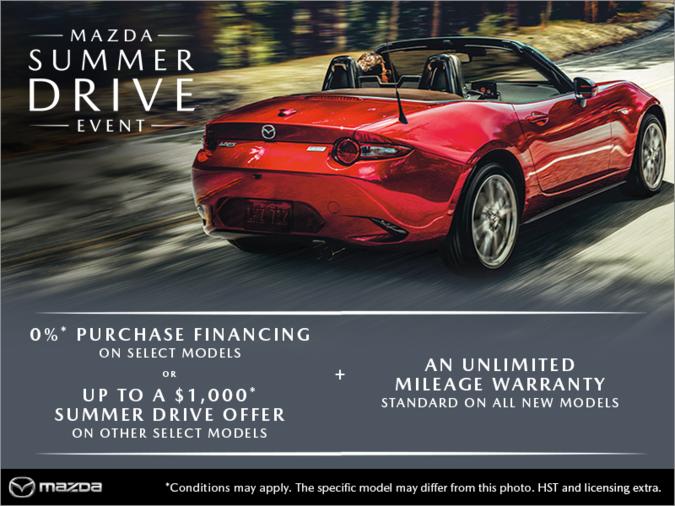 Half-Way Motors Mazda - The Mazda Summer Drive Event