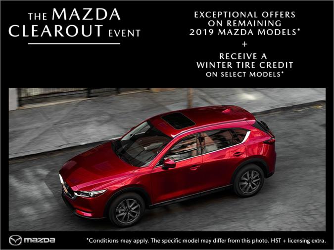 Half-Way Motors Mazda - The Mazda Clearout Event