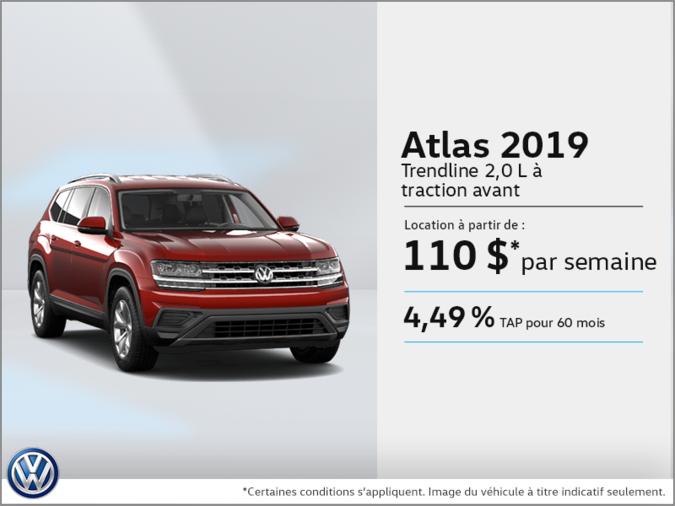 Louez la Atlas 2019!