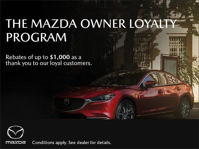 Half-Way Motors Mazda - The Mazda Owner Loyalty Program