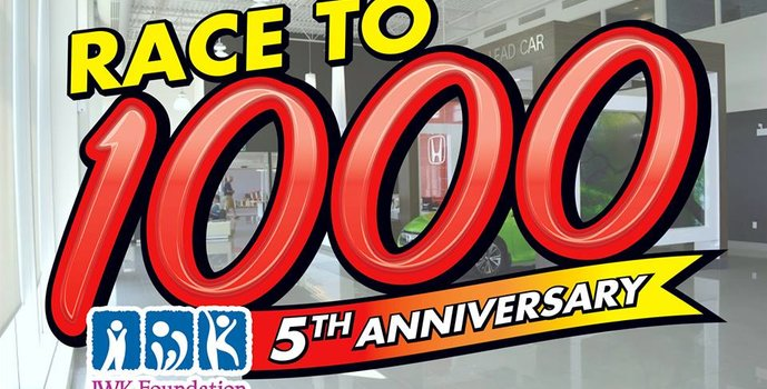 Another successful year for the Race to 1000!