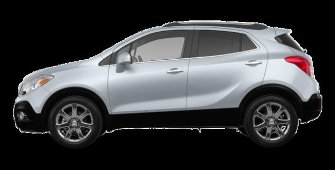 2016 Buick Encore LEATHER | Photo 4 | Quicksilver Metallic