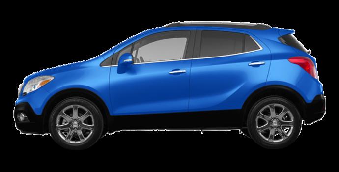 2016 Buick Encore LEATHER | Photo 4 | Coastal Blue Metallic