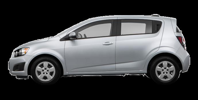 2016 Chevrolet Sonic Hatchback LS   Photo 4   Silver Ice Metallic