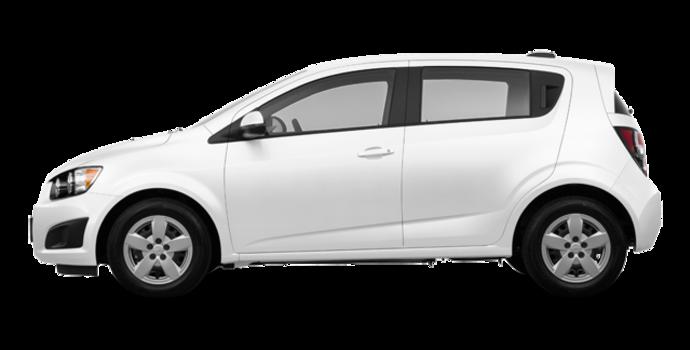2016 Chevrolet Sonic Hatchback LS   Photo 4   Summit White