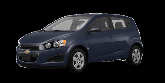 2016 Chevrolet Sonic Hatchback LS   Photo 6   Blue Velvet Metallic