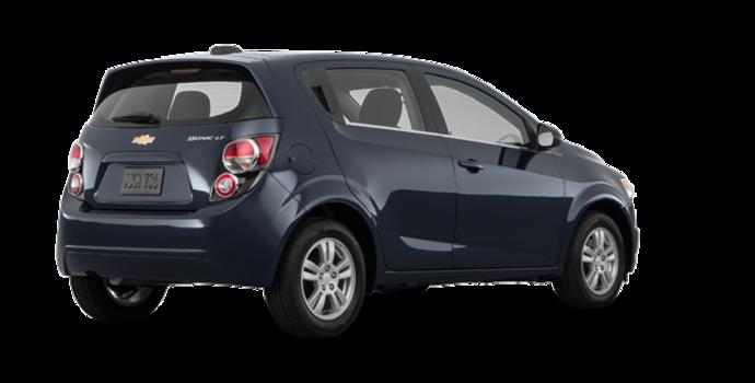 2016 Chevrolet Sonic Hatchback LT   Photo 5   Blue Velvet Metallic