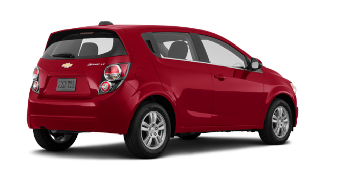 2016 Chevrolet Sonic Hatchback LT   Photo 5   Crystal Red