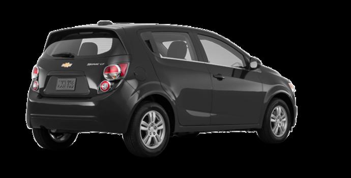 2016 Chevrolet Sonic Hatchback LT   Photo 5   Nightfall Grey Metallic