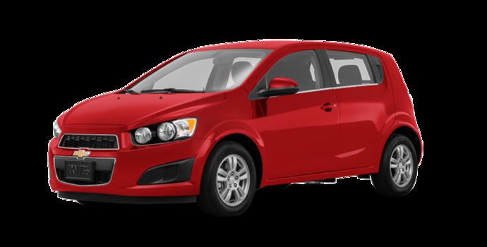 2016 Chevrolet Sonic Hatchback LT   Photo 6   Red Hot