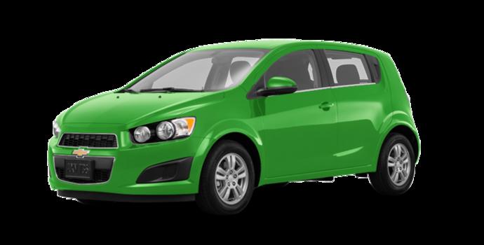 2016 Chevrolet Sonic Hatchback LT   Photo 6   Dragon Green Metallic