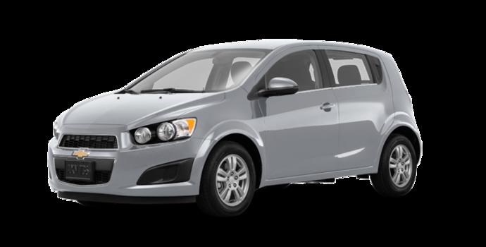 2016 Chevrolet Sonic Hatchback LT   Photo 6   Silver Ice Metallic