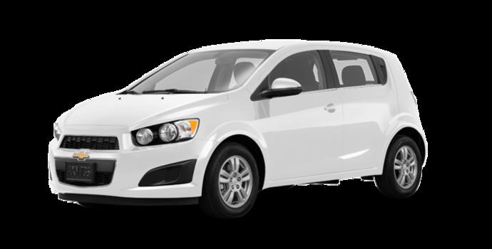 2016 Chevrolet Sonic Hatchback LT   Photo 6   Summit White