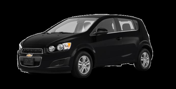 2016 Chevrolet Sonic Hatchback LT   Photo 6   Mosaic Black Metallic