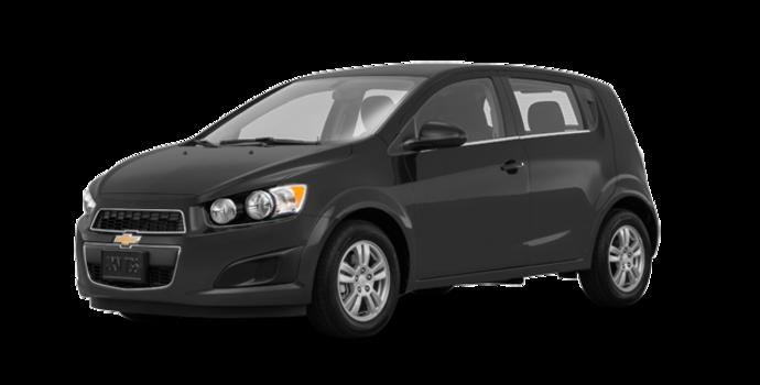2016 Chevrolet Sonic Hatchback LT   Photo 6   Nightfall Grey Metallic