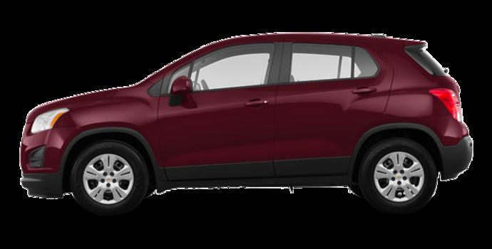2016 Chevrolet Trax LS | Photo 4 | Crimson Metallic
