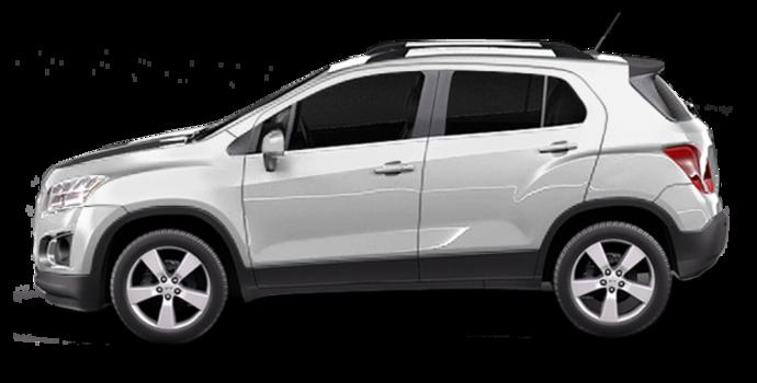 2016 Chevrolet Trax LTZ   Photo 4   Silver Ice Metallic
