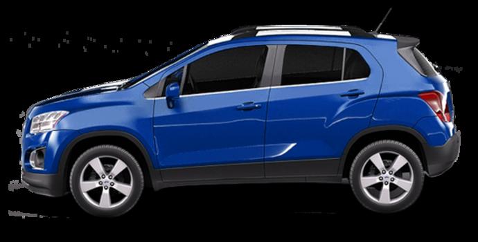 2016 Chevrolet Trax LTZ   Photo 4   Blue Topaz Metallic