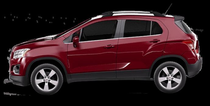 2016 Chevrolet Trax LTZ   Photo 4   Crimson Metallic