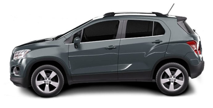2016 Chevrolet Trax LTZ   Photo 4   Cyber Grey Metallic