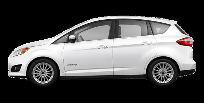 2016 Ford C-MAX SEL HYBRID | Photo 4 | White Platinum