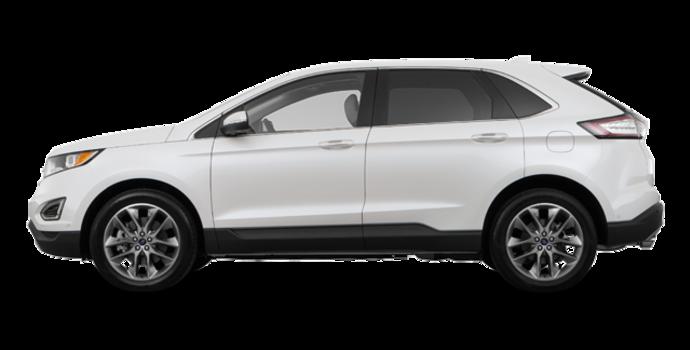 2016 Ford Edge TITANIUM | Photo 4 | White Platinum