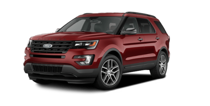 2016 Ford Explorer SPORT | Photo 6 | Ruby Red
