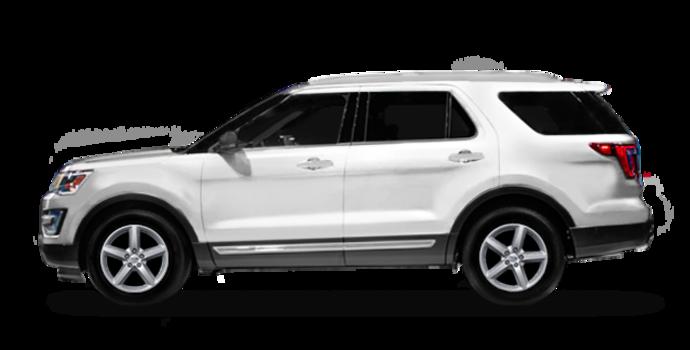 2016 Ford Explorer XLT   Photo 4   Oxford White