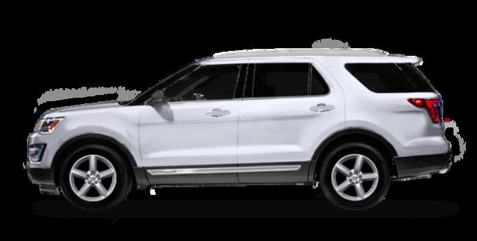 2016 Ford Explorer XLT   Photo 4   White Platinum