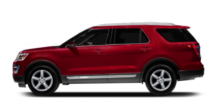 2016 Ford Explorer XLT   Photo 4   Ruby Red