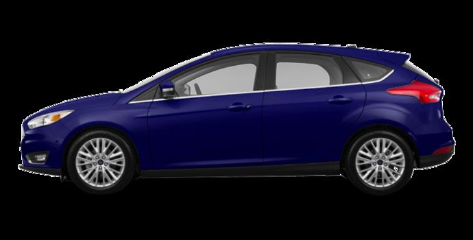 2016 Ford Focus Hatchback TITANIUM | Photo 4 | Kona Blue Metallic