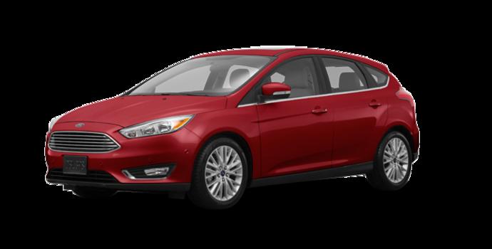 2016 Ford Focus Hatchback TITANIUM | Photo 6 | Ruby Red Metallic