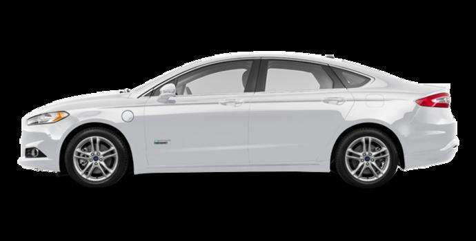 2016 Ford Fusion Energi TITANIUM | Photo 4 | White Platinum