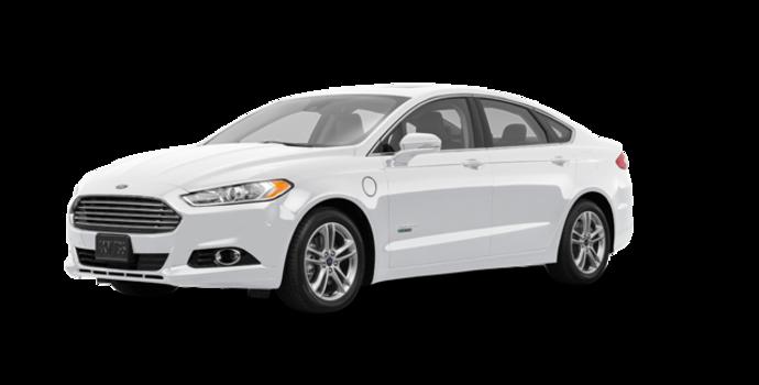 2016 Ford Fusion Energi TITANIUM | Photo 6 | White Platinum