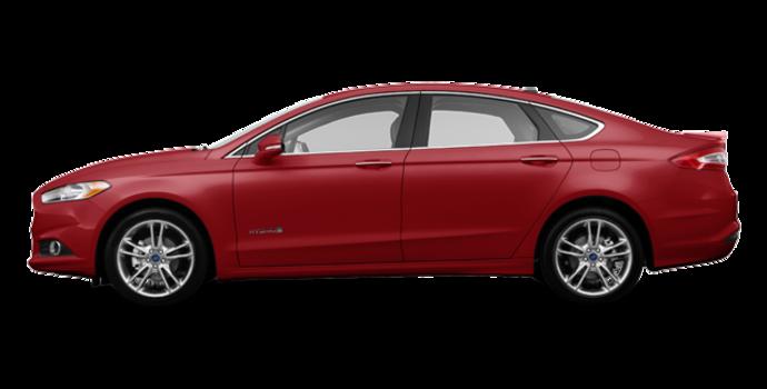 2016 Ford Fusion Hybrid TITANIUM | Photo 4 | Ruby Red