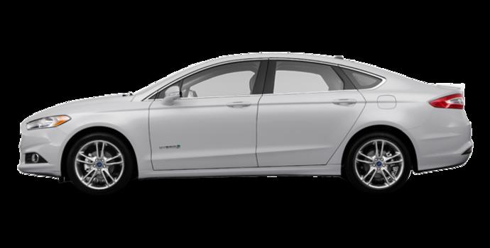 2016 Ford Fusion Hybrid TITANIUM | Photo 4 | Ingot Silver