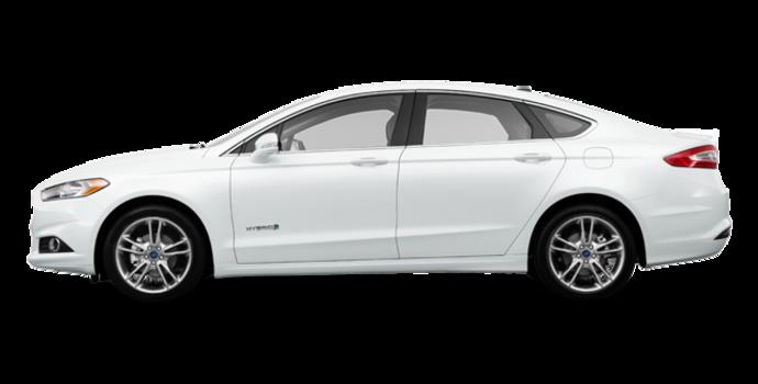 2016 Ford Fusion Hybrid TITANIUM | Photo 4 | Oxford White