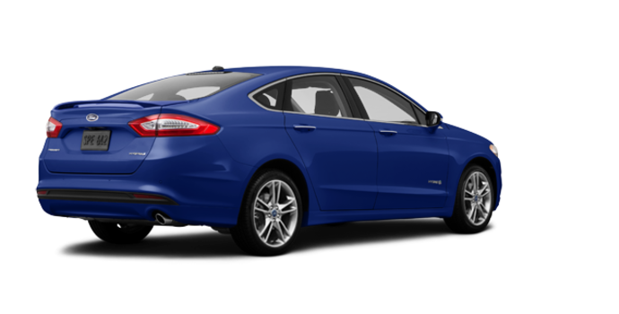 2016 Ford Fusion Hybrid TITANIUM | Photo 5 | Deep Impact Blue