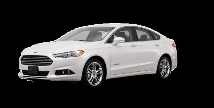 2016 Ford Fusion Hybrid TITANIUM | Photo 6 | White Platinum