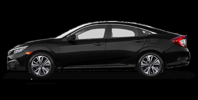 2016 Honda Civic Sedan EX-T | Photo 4 | Crystal Black Pearl
