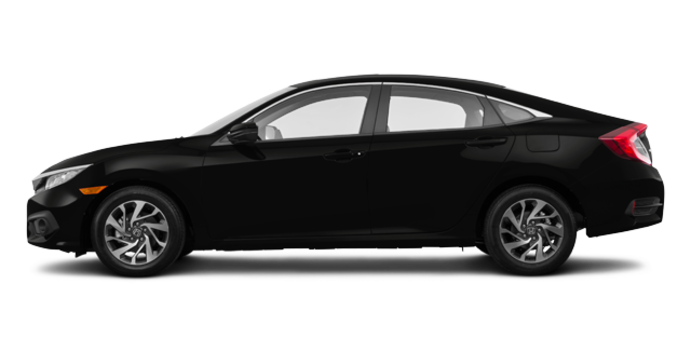 2016 Honda Civic Sedan EX | Photo 4 | Crystal Black Pearl