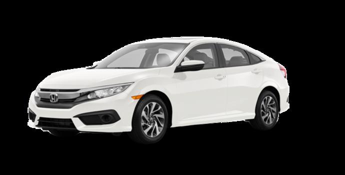 2016 Honda Civic Sedan EX | Photo 6 | White Orchard Pearl