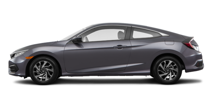 2016 Honda Civic Coupe LX | Photo 4 | Modern Steel Metallic