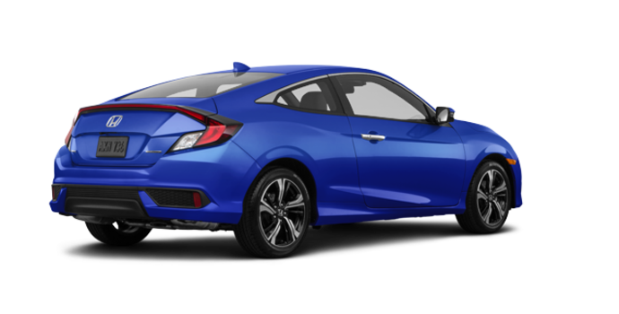 2016 Honda Civic Coupe TOURING | Photo 5 | Aegean Blue Metallic