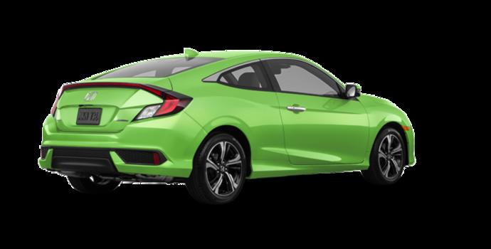 2016 Honda Civic Coupe TOURING | Photo 5 | Energy Green Pearl